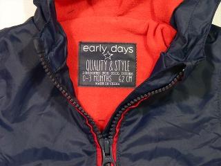 Куртка early days